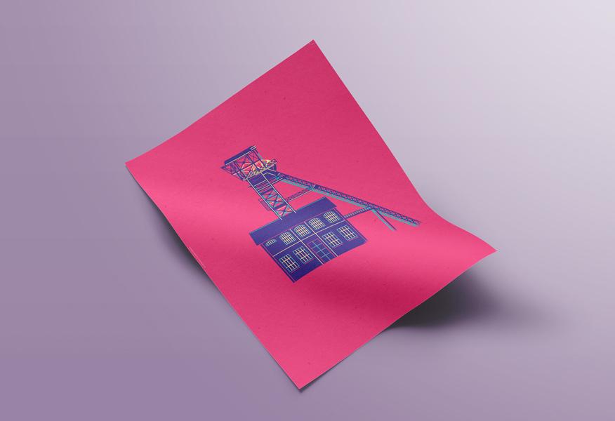 goodie-musee-de-la-mine-st-etienne-affiche-rose