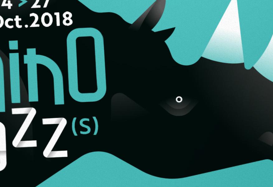 Affiche festival de Jazz, Rhino Jazz Loire