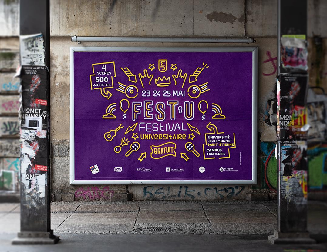 Communication festival Saint-Etienne